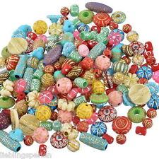 500g Mix Acrylperlen Beads Bastelset Bastlerbedarf Restposten Konvolut #5