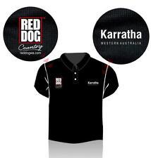 Red Dog KARRATHA Polo Shirt - size XL