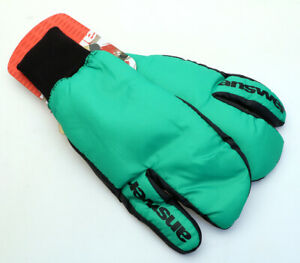 Answer Sleestak Winter Cycling Mitts Green MTB NEW