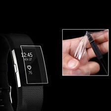 6pcs Claro Screentector protector de la película de Fitbit Carga 2 Muñequera de