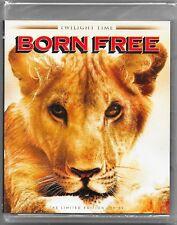 Born Free - Twilight Time Blu Ray New All Regions Free Registered Post