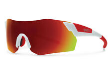 eefc23dc13 Smith Pivlock Arena Max Wrap Sunglasses Set White Red Mirror Vk6 X6 Cycling