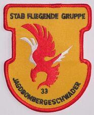 Patch Patch fuerza aérea jagdbombergeschwader 33 vara voladores grupo... a2643