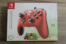 PDP Nintendo Switch Super Mario Faceoff Wired Pro Controller