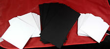 Crafts UK 50 Black Cards & Envelopes 5 X 5 - Same Day DISPATCH
