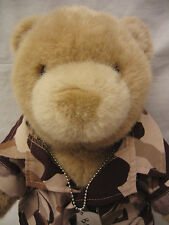 Military Plush BUILD A BEAR Workshop Camo Clothes Sandals Dog Tag US Army