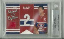 Doug Harvey 03/04 ITG Ultimate Memorabilia Raised to the Rafters /30