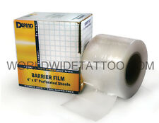 "Tattoo Equipment Supply Barrier Film 1200pcs/box (4"" x 6"" Inch) Supply Medical"