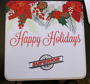 Mrs Field's Cookie Tin Box- Empty Tin - Mrs. Fields Christmas Tin Box