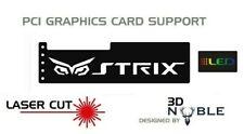 BLACK - RGB Addressable LED Backlit STRIX - GPU Anti-Sag Support Bracket Remote