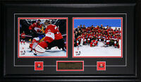Carey Price 2014 Team Canada Sochi Winter Olympics 2 Photo Collector Frame