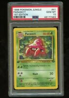 1999 Pokemon Jungle Parasect 1st Edition #41 PSA 10 GEM MINT