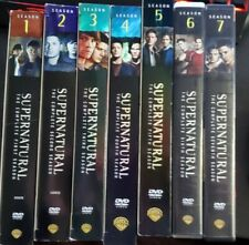 Supernatural TV Series Seasons 1 - 7 Complete Sets, Great condition, watched 1x