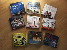 Hörbuch-Paket, 9 Hörbücher