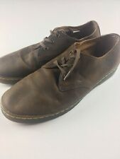 Dr Martens Awoo4 Coronado Size 12 Brown Leather Shoes