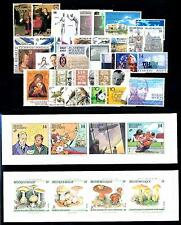 Belgium Belgien 1991 Complete Year Set included 2 carnets MNH