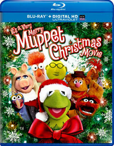 The Muppets It's A Very Merry Muppet Christmas Movie Blu-ray & Digital Copy Code