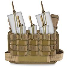 Bulldog Forward Ops Military Tactical Army Thigh Ammo Drop Leg Rig Coyote Tan