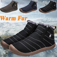 Men's Winter High-top Shoes Trendy Personality Comfort Warm Fur Ankle Snow Boots