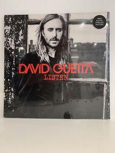 ID23z - David Guetta - Listen - vinyl LP - New Sealed