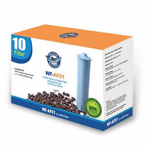 10x Wasserfilter Delfin AF01 Alternative zu Jura Blue Ena 67007 71311 71312