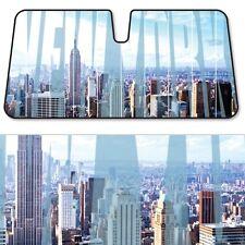 New York City Windshield Car Visor UV Auto Sun Shade Block New Baby Blue