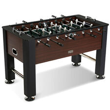 "Soccer Foosball Table Football Indoor Game Room 56"" 4 Player Arcade Furniture"