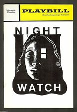 "Len Cariou ""NIGHT WATCH"" Joan Hackett / Keene Curtis 1972 Broadway Playbill"