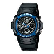 Casio Men's G-Shock Chronograph Watch, Rubber Strap, AW-591-2AER