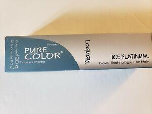LOQUAY PRIMER PURE COLOR TINTE ICE PLATINUM HAIR COLOR CREME 11.21 ICE BLUE