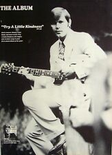 GLEN CAMPBELL 1970 Poster Ad TRY A LITTLE KINDNESS