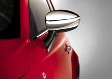 Genuine Fiat 500 Polished Chrome Wing Mirror Covers  P/N 50901689