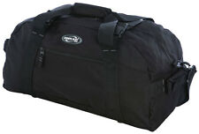 "Olympia Deluxe 42"" Sports Duffel Bag Luggage S1042 - Black"