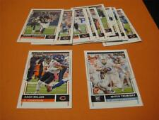 2017 Panini Score Chicago Bears Team Set With Rookies 12 Cards Mitch Trubisky