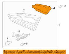 KIA OEM Forte Backup Light Back Up Lamp-Lens & Housing Gasket Left 92453A7010