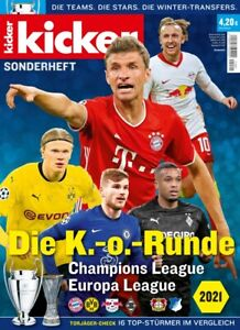 Kicker Sonderheft 2021 Tedesco Champions League Knock-Out Fase Anteprima Rivista