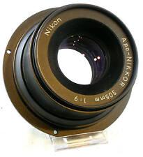Nikon Apo-NIKKOR 305mm 1:9 Lens w/Front and Back Caps