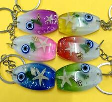 12pc wholesale lot insect jewelry sea star  style key-chains
