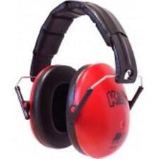 EDZ Kidz Ear Defenders Noise Protectors Adjustable Kids Childrens Toddler Baby Red