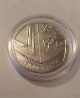 2019 Royal Mint Royal Shield of Arms BU 50p Fifty Pence Coin - In Coin Capsule