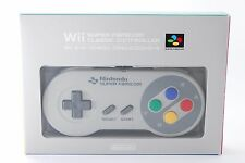 Wii Super Famicom Classic Controller w/Boxed Club Nintendo from Tokyo Japan