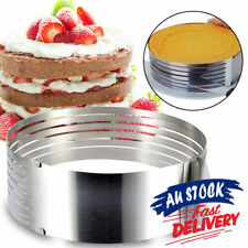 Cake Slicer Circular Layered Adjustable Stainless Steel Baking Tool Kit
