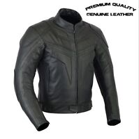 Men,s PREMIUM QUALITY CE ARMOURed MOTORCYCLE MOTORBIKE COW LEATHER JACKET