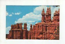 Vintage Post Card - Three Wise Men - Bryce Canyon National Park - Utah