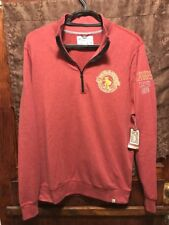 CLEVELAND CAVALIERS NBA ~ Mens LRG ~ NEW with Tags ~ 47 BRAND 1/4 Zip Pullover