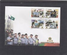 China Macau 2016 Police Force motorcycle First Day Cover FDC Macau pictorial h/s