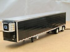 dcp black 53ft spread axle Thermo King reefer trailer new no box 1/64