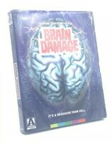 Brain Damage (Blu-ray+DVD, 2017; Arrow Video 2-Disc Set) NEW with RARE Slipcover