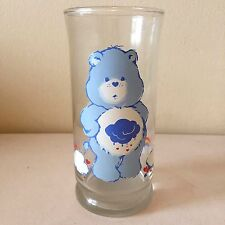Care Bears Collector's Drinking Glass Pizza Hut Limited Edition Grumpy Bear 1983