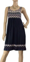 🌻 SABATINI NZ SILK BLEND KNITTED BODICE DRESS SIZE M (10) AS NEW